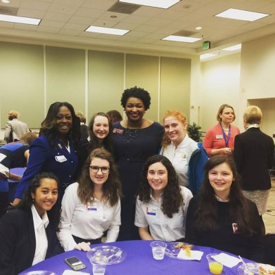 Students Attend Political Engagement Breakfast