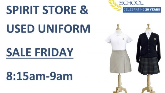 Uniforms on Sale in the Spirit Store