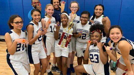 AGS Gold Basketball Team Wins MAAC Division 2 Championship