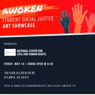 Student Social Justice Art Showcase