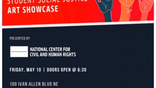 Student Social Justice Art Showcase