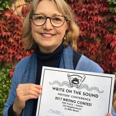 English Teacher Billie Mears Wins Poetry Award