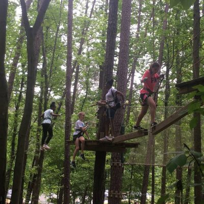 Zip Lining with Mr. Choy