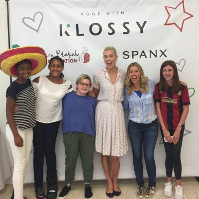 Students 'Kode with Klossy' at Spanx HQ