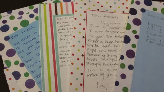 Letters to Children's Healthcare of Atlanta