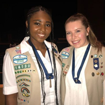 AGS Students Achieve Girl Scout Gold