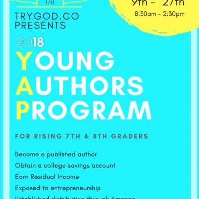 Summer Young Authors Program