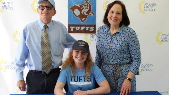 AGS Senior Recruited by Tufts University