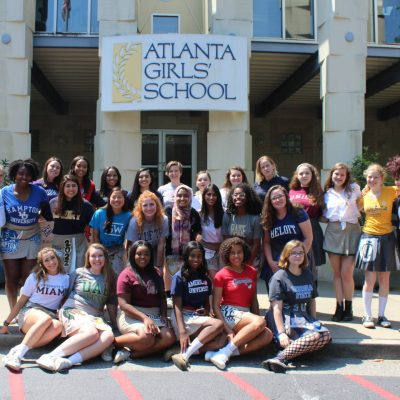Seniors Share College Picks with Skirt Day Tradition