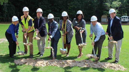 AGS Breaks Ground on Campus Enhancements