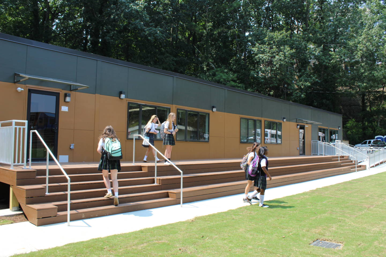 Modular Classroom Auction ~ Campus enhancements atlanta girls school