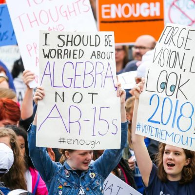 Students and Teachers Attend March for Our Lives