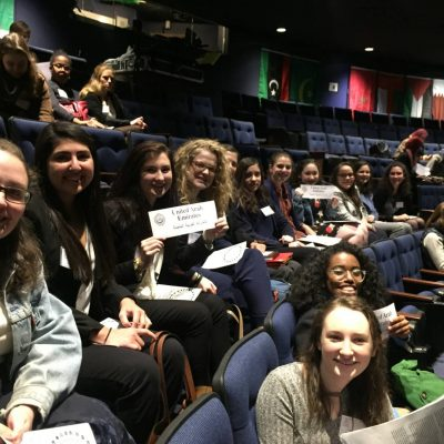 Students Take Home Win at Model Arab League Conference
