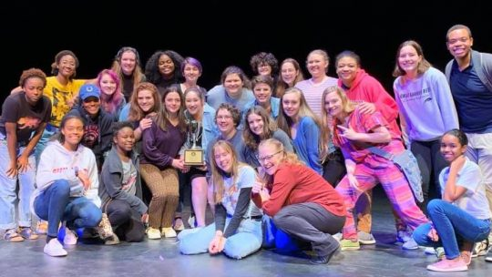 One Act Cast Brings Home Awards