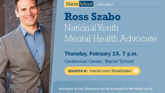 Youth Mental Health Speaker – Feb. 15