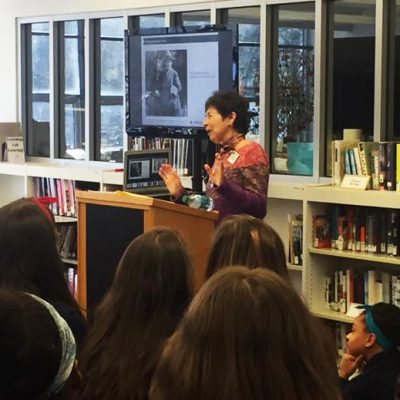 French Holocaust Survivor Shares Stories With Students