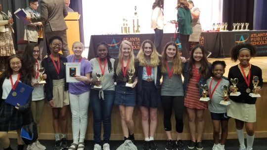 AGS Students Recognized for Excellence in Science at Regional Science Fair