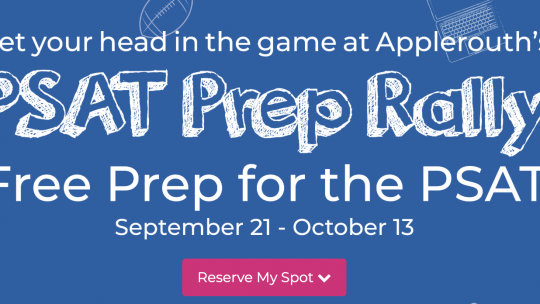 Applerouth to offer free PSAT test prep