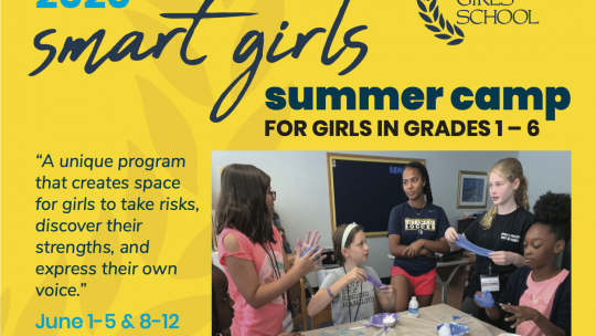 AGS SMART Girls Camp Registration is Open!