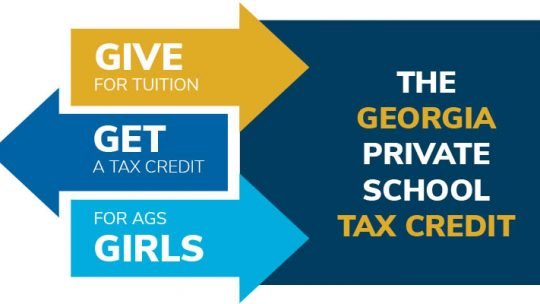 Applications for the Georgia Tax Credit are now open!