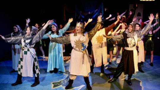 SPAMALOT Wows Audiences
