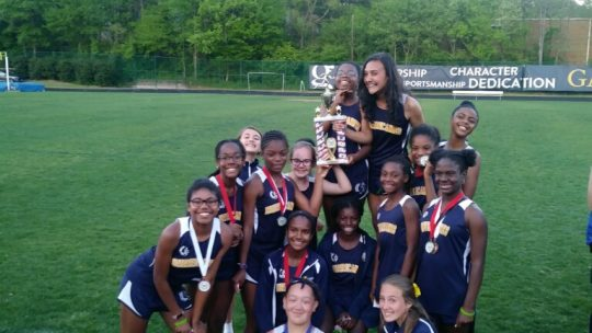 MS Track and Field Places 2nd at MAAC Championships